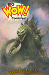 Big Wow Comicfest 2014 Godzilla Poster