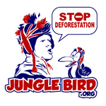 Jungle Bird's New Logo From 99Designs