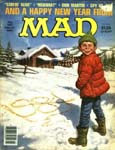 MAD Magazine - March 1984 - Pissing 1984 Into The Snow